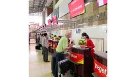 Hành khách Vietjet khai báo y tế bắt buộc tại https://tokhaiyte.vn trước chuyến bay