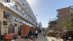 Dự án One Palace đang được xây dựng nhưng UBND Quận 12 khẳng định không có dự án này