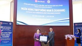 Hơn 1,2 tỷ cổ phiếu SeABank chính thức giao dịch trên HOSE