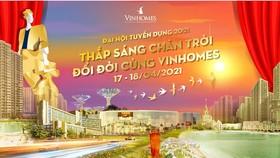 Vinhomes mở Đại hội Tuyển dụng 2021