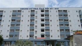 Dự án chung cư nhà ở xã hội D7-D10 (phường Mỹ Bình, thành phố Phan Rang-Tháp Chàm) góp phần giải quyết nhu cầu về nhà ở cho người có thu nhập thấp. (Ảnh: Nguyễn Thành/TTXVN)