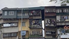 Một khu nhà tập thể cũ ở Hà Nội. (Nguồn: Vietnam+)
