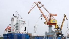 Xuất khẩu của Việt Nam trong quý 1 là điểm sáng của nền kinh tế khi đạt mức tăng trưởng 2 con số. (Ảnh: TTXVN)