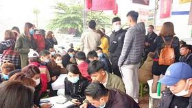 Nhộn nhịp mua bán đất ở Bắc Giang - Ảnh: ĐÔNG KHÁNH
