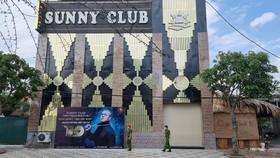 Sunny Club - nơi ghi nhận nhiều ca mắc COVID-19 do tiếp xúc với chuyên gia Trung Quốc.