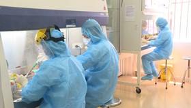Trung tâm Kiểm soát bệnh tật tỉnh Thái Bình cho biết vừa ghi nhận 7 trường hợp dương tính lần 1 với COVID-19, tất cả đều liên quan ổ dịch Bệnh viện Bệnh nhiệt đới trung ương cơ sở 2 - Ảnh: KHÁNH LINH
