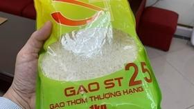 Gạo ST25. (Nguồn: Vietnam+)