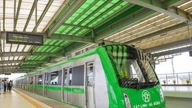 So với tiêu chuẩn châu Âu, đường sắt Cát Linh - Hà Đông vẫn còn nguy cơ gây mất an toàn - Ảnh: H.A.