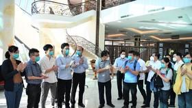 Vietnam Airlines chuyên chở Đội phản ứng nhanh bệnh viện Chợ Rẫy trở về TPHCM