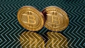 Đồng tiền kỹ thuật số bitcoin. (Ảnh: AFP/TTXVN)