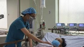 Bệnh nhân đã ổn định và chuẩn bị xuất viện