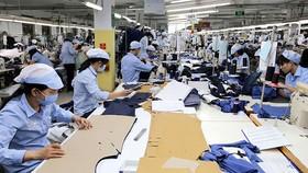 Xuất khẩu hàng dệt may 8 tháng năm 2021 đạt 21,2 tỷ USD, tăng 9,7% so với cùng kỳ. Ảnh minh họa.