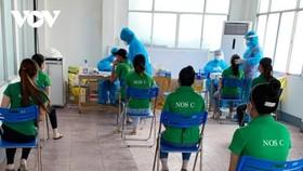Công nhân công ty Changshin Việt Nam được trở lại sản xuất. (Ảnh: CDC Đồng Nai)