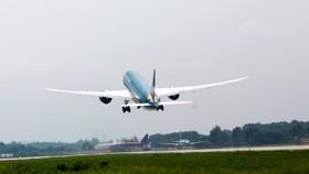 Hiện nay Vietnam Airlines vẫn khai thác các chuyến bay quốc tế không thường lệ theo cách thức cấp phép từng chuyến bay của nhà chức trách hàng không - Ảnh: TUẤN PHÙNG