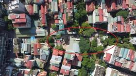 Phường Vĩnh Phúc đang rất thiếu không gian xanh, cả phường không có khu công viên nào. (Ảnh:PV/Vietnam+)