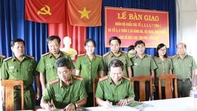 Công an huyện Bù Đăng ký bàn giao nhân khẩu
