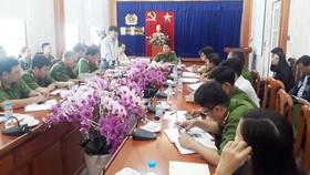 Cảnh sát PCCC tỉnh Bình Dương họp tìm nguyên nhân các vụ cháy xưởng gỗ
