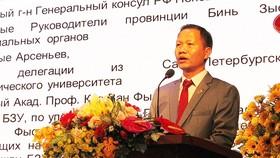 """Nga chuyển giao công nghệ """"nhà máy thông minh, thành phố thông minh"""" cho Đại học Bình Dương"""