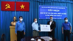 Hỗ trợ 2 tỷ đồng chăm lo công nhân, lao động quận Bình Tân