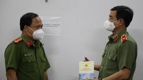 Công an TPHCM động viên cán bộ chiến sĩ nhân ngày truyền thống Công an nhân dân