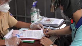 Công an TPHCM phát hiện người đi đường sử dụng giấy giả để qua chốt kiểm soát