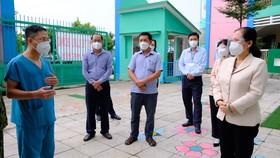 Chủ tịch HĐND TPHCM Nguyễn Thị Lệ: Phải giữ vững pháo đài chống dịch Covid-19