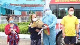 Bệnh viện dã chiến Bình Chánh số 1 điều trị thành công nhiều F0 đặc biệt nặng