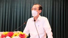 Trưởng Ban Nội chính Thành ủy TPHCM làm việc với quận 6 khi trở lại trạng thái ''bình thường mới''
