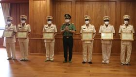 Công an TPHCM báo công dâng Bác nhân kỷ niệm 60 năm Ngày truyền thống lực lượng Cảnh sát PCCC và CNCH