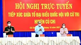 Cử tri đề nghị tổ chức đưa đón công nhân trở lại TPHCM làm việc