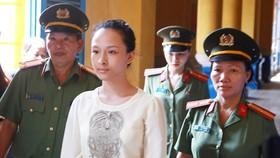 Trương Hồ Phương Nga trong một phiên tòa