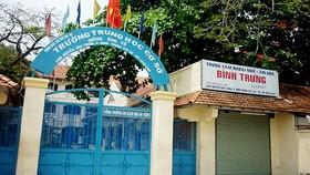 Trường THCS Giồng Ông Tố, quận 2 - nơi xảy ra vụ án