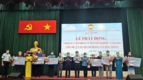 Quận Tân Phú: Tiếp nhận hơn 4,1 tỷ đồng chăm lo người nghèo