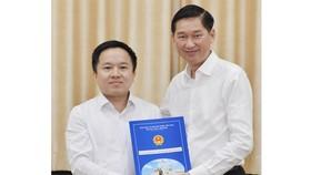 Đồng chí Từ Lương giữ chức Phó Giám đốc Sở TT-TT TPHCM