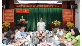 Bí thư Thành ủy TPHCM Nguyễn Thiện Nhân: Chỉnh trang chợ Gà Gạo là dự án trọng điểm trong nhiệm kỳ tới