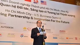 Bài phát biểu của Bí thư Thành ủy TPHCM Nguyễn Thiện Nhân tại diễn đàn doanh nghiệp TPHCM - Hoa Kỳ