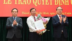 Thành ủy TPHCM có tân Chánh Văn phòng