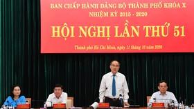 TPHCM điều chỉnh cơ cấu, phương án nhân sự Đại hội đại biểu Đảng bộ TP lần thứ XI