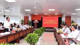 Bí thư Thành ủy TPHCM Nguyễn Văn Nên: Việc liên quan đến người dân phải bàn với dân