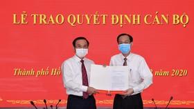 Đồng chí Lê Thanh Liêm được phân công, bổ nhiệm làm Trưởng Ban Nội chính Thành ủy