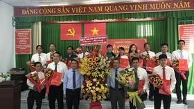 Ra mắt Đảng bộ, Ban Thường vụ, Bí thư và các Phó Bí thư phường Võ Thị Sáu