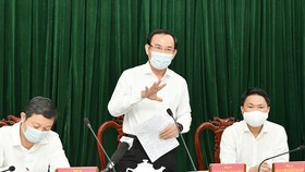 Bí thư Thành ủy TPHCM Nguyễn Văn Nên chỉ đạo gỡ vướng để Bình Chánh phát triển