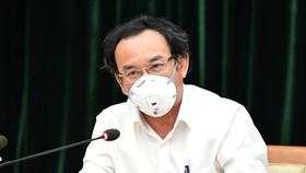 Bí thư Thành ủy TPHCM Nguyễn Văn Nên: Tập trung mọi nguồn lực để có vaccine phòng Covid-19 cho người dân