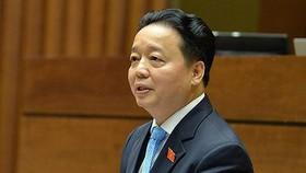 Bộ trưởng Bộ TN-MT Trần Hồng Hà