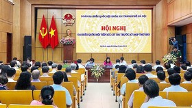 """Cử tri Hà Nội: """"Dân mong đồng chí Tổng Bí thư, Chủ tịch nước mau bình phục để tiếp tục trọng trách"""""""