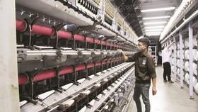 Nhà máy xơ sợi polyeste Đình Vũ tiếp tục vận hành mở rộng được từ 3 dây chuyền DTY lên 10 dây chuyền