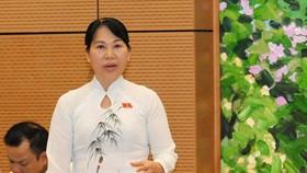 ĐB Nguyễn Thị Thanh Thủy (Hậu Giang)