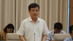 Viện trưởng Viện KSND tối cao Lê Minh Trí tại phiên họp