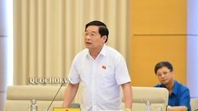 Theo ông Hà Ngọc Chiến, Chủ tịch Hội đồng Dân tộc của Quốc hội, Trưởng đoàn giám sát trình bày tại cuộc họp