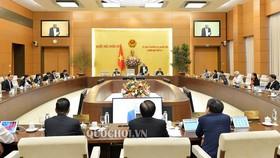 Tổng Thư ký Quốc hội Nguyễn Hạnh Phúc vừa có văn bản thông báo quyết định của Uỷ ban Thường vụ Quốc hội về việc tạm hoãn Phiên họp lần thứ 43